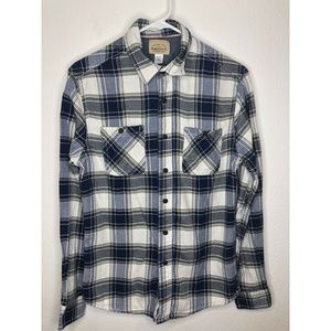 Roebuck and Company Flannel Shirt Small Western